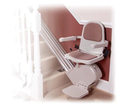 silla salvaescaleras para interiores.