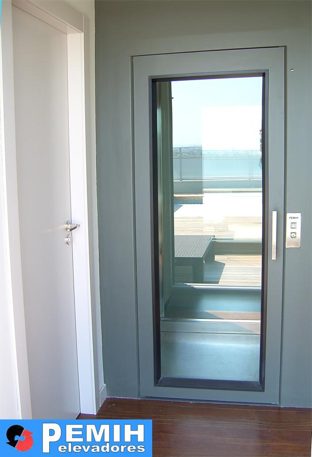 Montacargas para personas pemih ascensores elevadores - Puertas de cristal abatibles precios ...