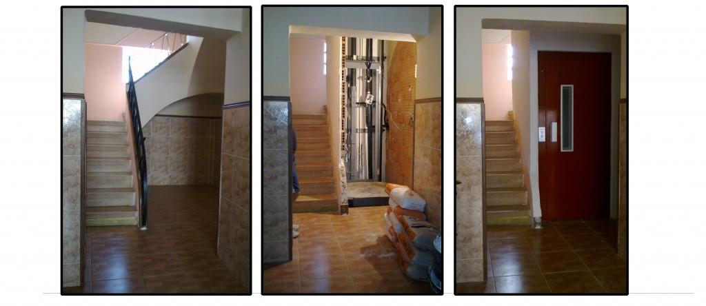 Ascensor hueco de escalera pemih elevadores - Ascensor casa ...