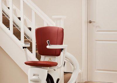 silla salvaescaleras flow curva
