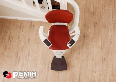 silla salvaescaleras curva flow