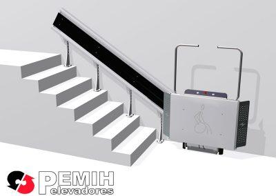 Plataformas salvaescaleras para edificios y oficinas HDP-I