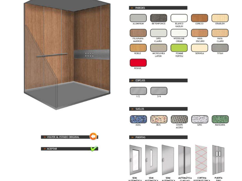 configuracion cabina pemih